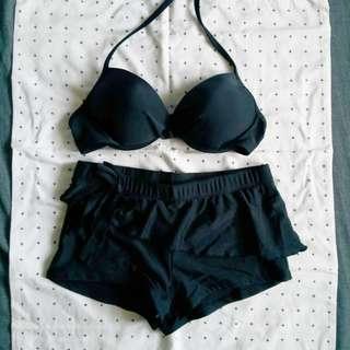 Black Bikini Size S