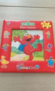 Elmo's Seasons Puzzle Books