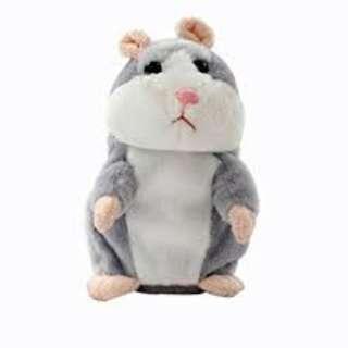 Adorable Interesting Speak Talking Record Hamster Mouse Plush Kids Toys