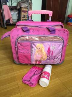 Original Barbie Trolley Bag