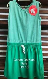 Cotton On Kids Dress (5yrs)