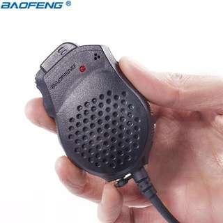 Baofeng UV-82 Dual PTT Speaker Microphone For Baofeng Two Way Radio UV-82 UV-82HX UV-82HP GT-5TP Walkie Talkie Portable Radio