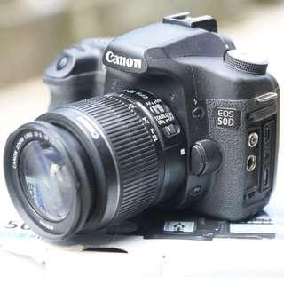 Kamera Canon EOS 50D + Kit