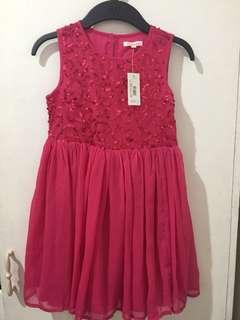 Rustans pink dress