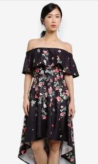 ZALORA Off Shoulder Dress