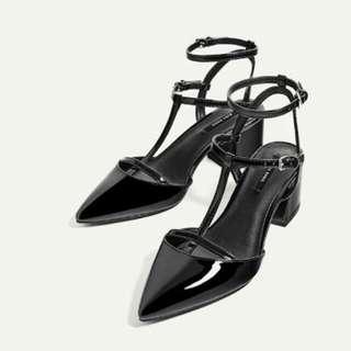 REPRICE! Zara block heels