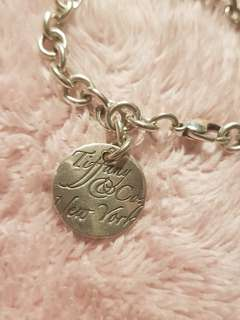 Tiffany & Co. Notes Round Tag bracelet