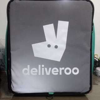 Deliveroo thermal bag(new)