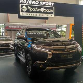 Pajero Dakar Limited Edition Rockford Fosgate