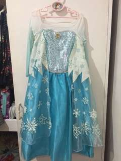 Frozen costume from Hongkong Disneyland