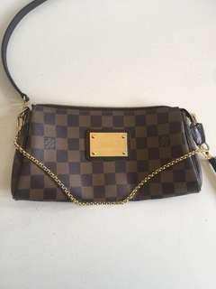 Louis Vuitton Eva clutch crossbody bag