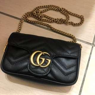 🚚 Gucci肩背鏈條包