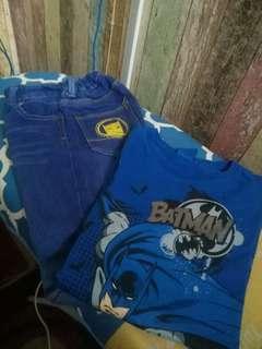 Batman Jeans and T shirt