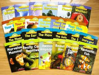Scholastic Science Vocabulary Readers (24 books)