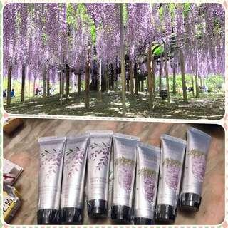 日本足利紫藤hand cream 30g