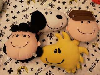 Snoopy cushion四件(全要)