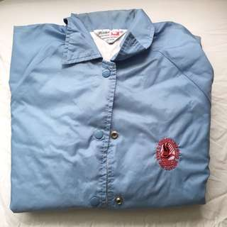 Light blue coaches jacket