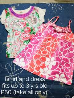 Shirt and Dress