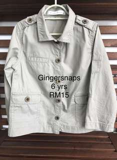 Gingersnaps Shirt (6yrs)