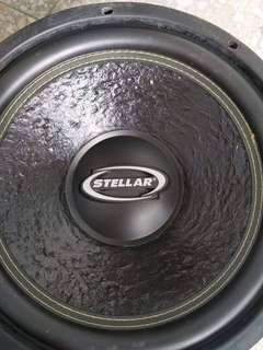 Stellar  woofer  dmsc..use  1time competition ...price  still can lego.  If interested chat  me.  Tqvm