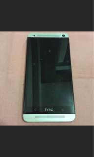 HTC One M7 801e (銀)