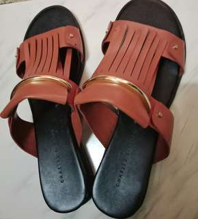 Authentic Charles & Keith Slip on