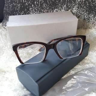 Authentic Miu Miu Brown Havana Frame Prescription Eyeglass