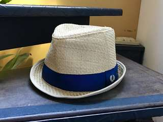 Fred Perry straw fedora