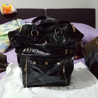 YSL BLack Tote (BAG ONLY) Authentic