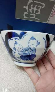 Traditional vintage Japan ceramic bowl