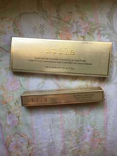 Stila duo lip & cheek palette and lipstick