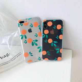Sweet Orange iPhone Case