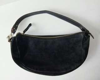 Preloved Tas Bag Kate Spade Suede Authentic Original