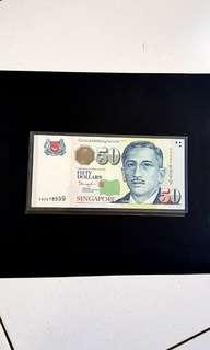 尤索$50  4DZ  678999