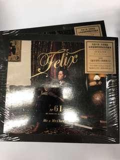 張敬軒 HINS FELIX ME & MR CHEUNG CD + DVD
