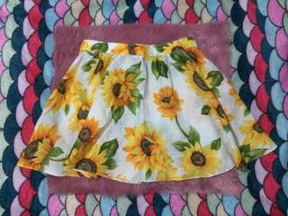 B17 Sunflower Skater Skirt