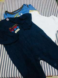 Set baby boy rompers