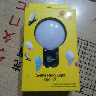 Selfie Ring Light Rk-17
