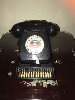 Vintage Rotary Phone with matching Stand