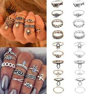 Midi Ring Set (5pcs)