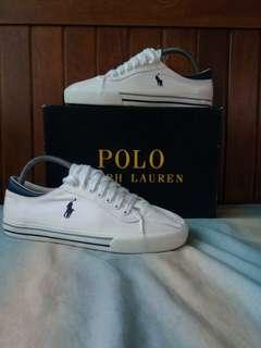 Polo Ralph Lauren White Harrison Sneakers *REPRICED*
