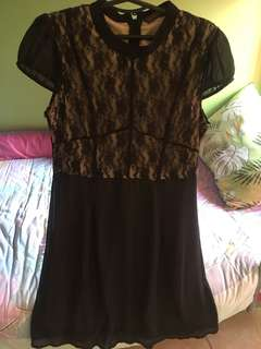 Black dress with lace 🖤
