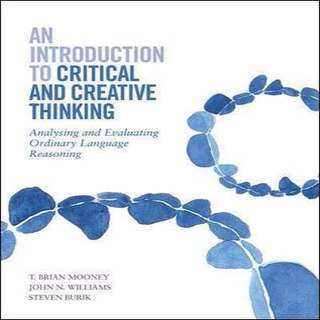 Introduction to critical and creative thinking
