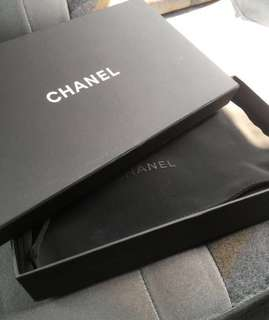Chanel Box with ribbon