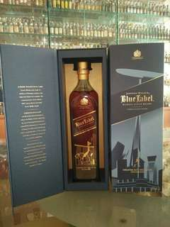JW Blue Label whisky collection