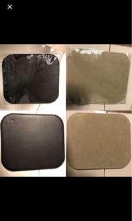 真皮mouse pad (8吋x9吋)