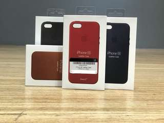 iPhone SE leather Casing