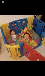Haenim Play Yard. Free delivery in East. Throw in Alphabet mat as seen
