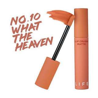 It's Skin Life Color Lip Crush Matte #10 What The Heaven