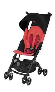 BN GB pockit+ plus (2018) stroller - red